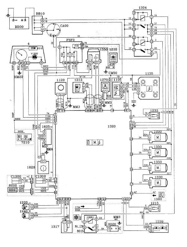 index of   peugeot605  images  articles  schemaselectriques